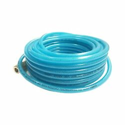 "Polyurethane Reinforced 1 4""ID×50ft Air Compressor Hose Fittings Solid Coupler $31.93"