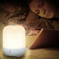 Dimmable Touch Sensor Table Lamp LED Baby Room Sleeping Aid Bedside Night Light $16.99