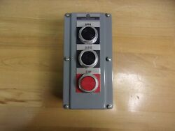 800T 3TA ALLEN BRADLEY OIL TIGHT PUSH BUTTON $140.00