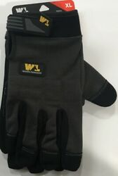 WELLS LAMONT FX3 FIT FLEX FEEL GLOVES BRAND NEW XL EXTRA LARGE $12.00