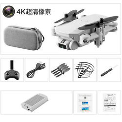 4K Wide Angle  Foldable Drone GPS Headless Mode Drone for Beginners Adults $25.91