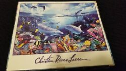 Ceaco Puzzle 2000 Pieces Day of the Dolphins COMPLETE  $49.99