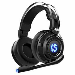 HP Wired Stereo Gaming Headset with mic One Headset and LED Light $29.99