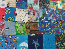 12 YARD PRE-CUT Marvel Black Panther Mickey Mario Free Ship Cotton Fabric $8.25