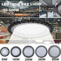 LED High Bay Light 500W 300W 200W 100W 50W Warehouse Industrial Commercial Light