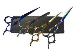 "6"" Inch Dragon Handle Professional Salon Hair Cutting Scissors Barber Shears  $20.95"