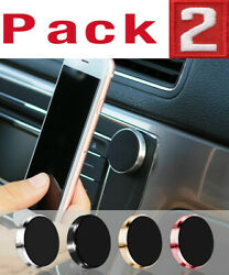2 Pack Magnetic Car Dashboard Mount Holder Stand For Phone Samsung Galaxy iPhone $5.99