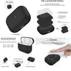 Miracase Upgrade Cover for Airpods Pro Case Triple Layer Protective Liquid Sili $13.99