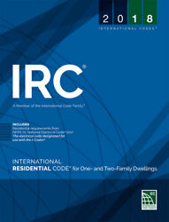 2018 International Residential Code for One and Two Family Dwellings $72.00