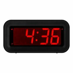 KWANWA LED Digital Alarm Clock Battery Operated Only Small for Bedroom Wall T... $19.97