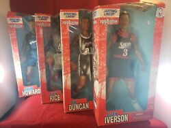 1998 Starting Line Up NBA Basketball 13quot; Posable Action Figure Collectibles $29.99
