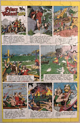 Prince Valiant in the days of King Arthur Jr. Picture Puzzle Built-Rite 100 pcs. $28.00