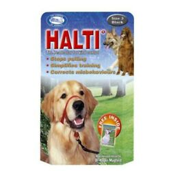 Halti Dog Headcollar Stops Pulling Training Comfortable Halter Harness 6 Sizes $21.25