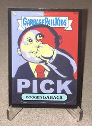 Garbage Pail Kids Booger BARACK Black Border Parallel $4.00