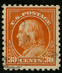 MALACK 439 VF XF faintly canceled rare with such ..MORE.. b2889 $35.00