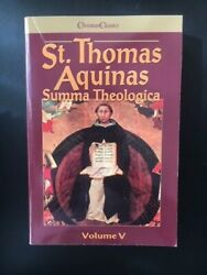 St. Thomas Aquinas Summa Theologica - 5 Volume Set  $130.00