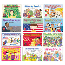 LEARN TO READ SERIES EMERGENT VARIETY HOLIDAY SET OF 12 16 PAGES EACH BOOKS $55.26