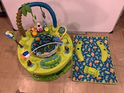 Evenflo Exersaucer Triple Fun Actvity Center Life in the Amazon $100.00