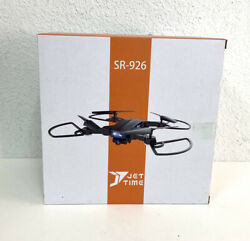 Jettime SR 926 Mini Foldable Drone New in Box with camera 1 button launch land $97.89