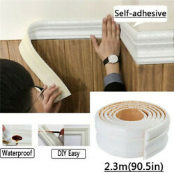 7.5FT Waterproof 3D Wall Border Wall Paper Decor Sticker Self adhesive Kitchen $5.48