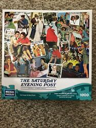 Mega Puzzles 1000 Piece The Day In the Life Of A Girl The Saturday Evening Post $12.99