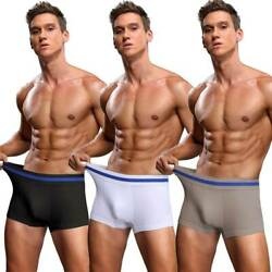 Men Body Shaper Briefs Anti Chafing Boxer Underwear Tummy Control Slimming Panty $5.79