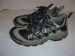 Montrail Womens AT PLUS GTX Trail Hiking Shoes Size US 8 GL2086 010 Black Gray $18.99