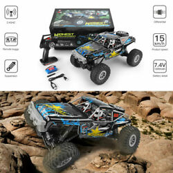 Wltoys 1 10 2.4GHz 4WD Waterproof Racing RC Toy Car Off Road Electric Crawler $72.99