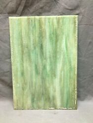 ONE Antique Slag Textured Green Window Glass 11X16 Old Pane Replacement 619 20B $39.00