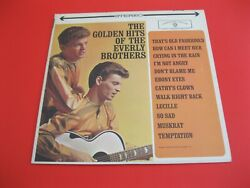 The Golden Hits of the Everly Brothers Stereo LP Mint  $12.00