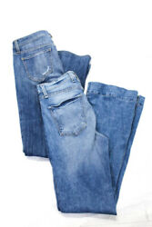 McGuire Genetic Denim Womens Light Wash Flare Jeans High Mid Rise Size 28 lot 2 $29.99