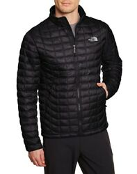 The North Face Mens Thermoball Full Zip Jacket Black $159.99