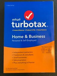 LEGITIMATE TurboTax Home & Business 2019 Federal+State+Efile Windows Download $45.99