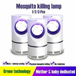 Electric Mosquito Insect Killer USB UV LED Lamp Zapper Fly Bug Trap Pest Control $11.99