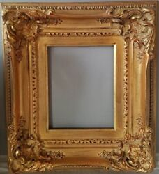 Emilie Art Wood Frame French Provincial Gold Finish and Gold Liner 8quot; x 10quot; $154.99