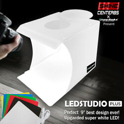 Pro COB LED Photo Studio Photography Tent Light Room Cube Mini Box + 6 Backdrops $13.99