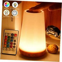 Biilaflor Touch Lamp Portable Table Sensor Control Bedside Lamps with Quick USB $28.87