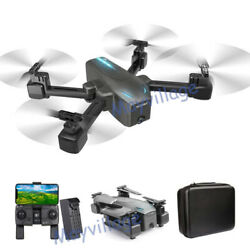 S176 Selfie Drone 4K GPS HD Dual Camera 5G FPV Foldable Aircraft RC Quadcopter $109.99