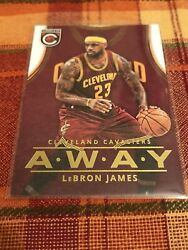 2015-16 Panini Complete Lebron James Short Print Away Jersey      CAVALIERS $26.99