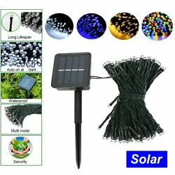 50 200 Led Solar Power Fairy Light String Lamp Party Xmas Deco Garden Outdoor $8.09