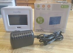 Capello Toc Digital Charge Clock Alarm with USB Phone Charger New in Open Box $7.00