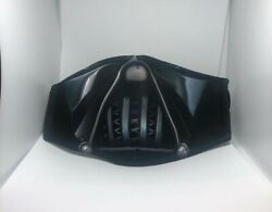 Face Mask Star Wars Darth Vader True Black Washable Doble Layer& Strap neck&head $9.99