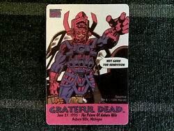 Grateful Dead Backstage Pass 6271995 Auburn Hills MI Galactus Marvel Comics