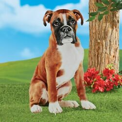 Realistic Dog Yard Stakes Boxer $15.00