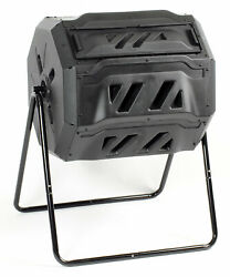 KoolScapes 42 Gallon Rotary 2 Chamber Tumbling Composter $199.99