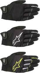 Alpinestars Atom Gloves Motorcycle Street Riding Mens Textile Touch Screen $59.95