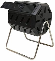FCMP Outdoor IM4000 Tumbling Composter 37 gallon Black $107.99