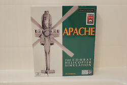 Apache The Combat Helicopter Simulator PC CD Big Box Factory Selaed NEW Rare $82.05