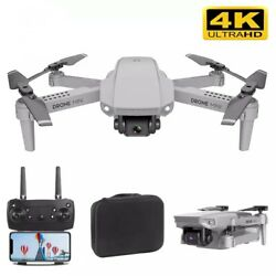 4K Smart Follow Drone Quadcopter With GPS WIFI HD Camera + 3 Battery Packs $79.99