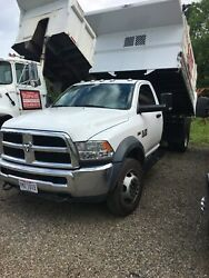 2018 Ram 5500 - only 8300 miles   11.5 ft rugby hard hat body6.4 hemi $47,900.00
